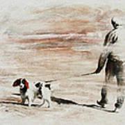 Last Walk Art Print