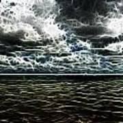 Last Winds Of Hurrican Issac  Art Print