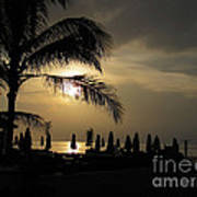 Late Afternoon In Mobay Art Print