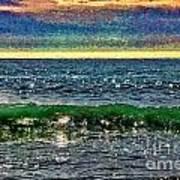 Late Afternoon Ocean Art Print