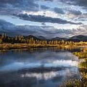 Late Afternoon On The Tuolumne River Art Print