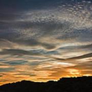 Late Afternoon Sky Art Print
