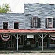 Latimore's Store - Perryville Ky Print by Thia Stover
