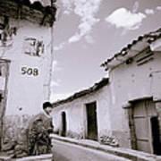 The Alleys Of Cuzco Art Print