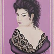 Latin Lace Art Print by Nickie Bradley