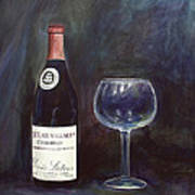 Latour Wine Buon Fresco 3 Primary Pigments Art Print