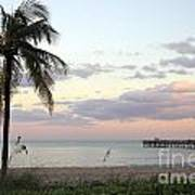 Lauderdale By The Sea Florida Sunset Art Print