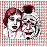 Laugh Clown Laugh Art Print