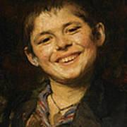 Laughing Boy Art Print