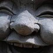 Laughing Buddah Art Print