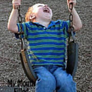 Laughter In The Park Art Print