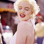 Laughter Of Marilyn Art Print