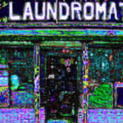 Laundromat 20130731m108 Art Print by Wingsdomain Art and Photography