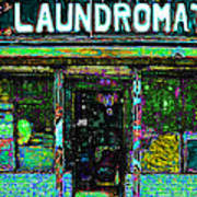Laundromat 20130731p180 Art Print by Wingsdomain Art and Photography