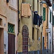 Laundry Citta Di Castello Art Print