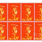 Stamps Art Print