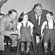Laurel And Hardy In Ireland Art Print