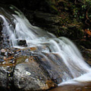 Laurel Falls Great Smoky Mountains Art Print