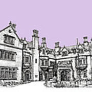 Laurel Hall In Lilac Art Print by Adendorff Design