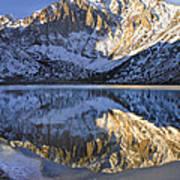 Laurel Mt And Convict Lake Sierra Art Print