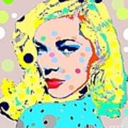 Lauren Bacall Art Print by Ricky Sencion