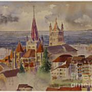 Lausanne Art Print