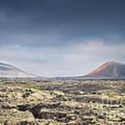 Lava Flows Lanzarote Art Print