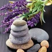 Lavender Aromatherapy Art Print