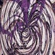 Lavender Bead Art Art Print