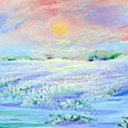 Lavender Fields Art Print