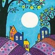 Lavender Hills Art Print