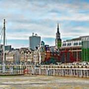 Law Courts Newcastle Upon Tyne Art Print