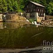 Lawrence County Grist Mill Art Print