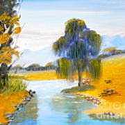 Lawson River Art Print