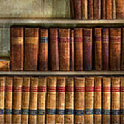 Lawyer - Books - Law Books  Art Print