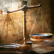 Lawyer - Scale - Balanced Law Art Print