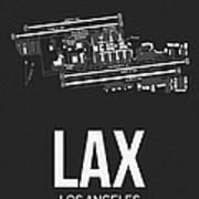 Lax Los Angeles Airport Poster 3 Art Print