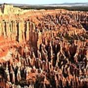 Layered Hoodoos At Bryce Canyon National Park Art Print