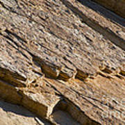 Layered Rock Art Print