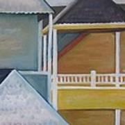 Lbi Rooftops Art Print