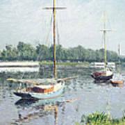 Le Bassin D'argenteuil Art Print