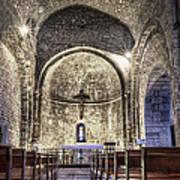 Le Castellet Medieval Church Art Print