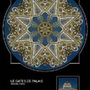 Le Gates De Palais Art Print