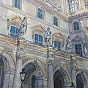 Le Louvre IIi Art Print