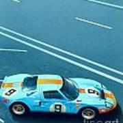 Le Mans 68 Art Print