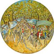 Le Marche De Toulon - Orig. For Sale Art Print