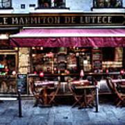 Le Marmiton De Lutece Paris France Art Print