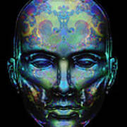Le Masque De Minuit Art Print
