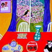Le  Poisson Rouge Art Print