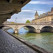 Le Pont Napoleon Paris Art Print